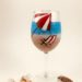 How to paint a beach wine glass