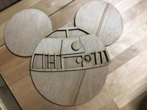 R2D2 Mickey