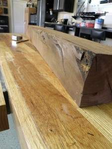 Mesquite timber