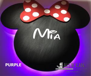 mickey purple